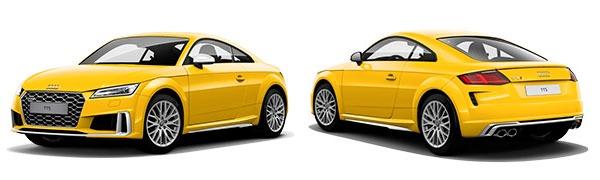 Modelo Audi TTS Coupé -