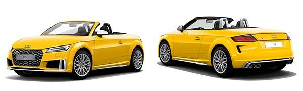 Modelo Audi TTS Roadster -