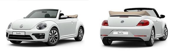 Modelo Volkswagen Beetle Cabrio Design