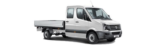 Model Volkswagen Comerciales Crafter Plataforma 4p Chasis Cabina Doble