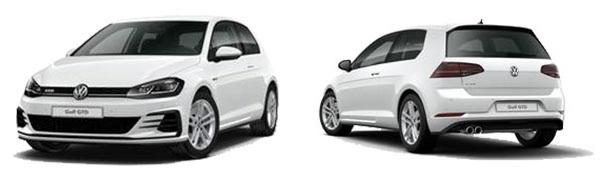 Modelo Volkswagen Golf 3p GTD