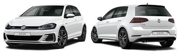 Modelo Volkswagen Golf 5p GTE