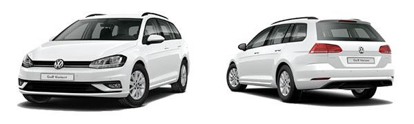 Modelo Volkswagen Golf Variant Ready2Go