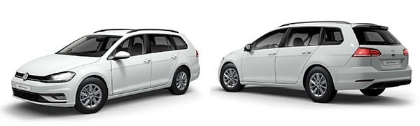 Modelo Volkswagen Golf Variant Business and Navi (Sólo Flotas)