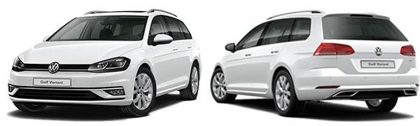 Modelo Volkswagen Golf Variant Edition