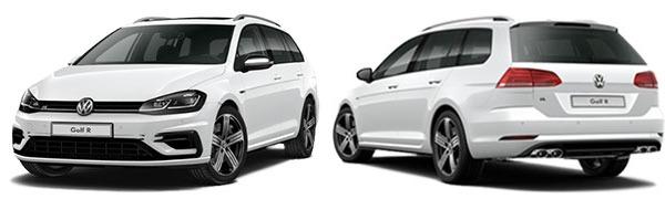 Modelo Volkswagen Golf Variant R