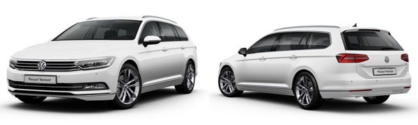 Modelo Volkswagen Passat Variant Sport