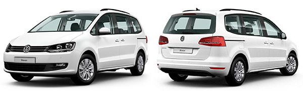 Model Volkswagen Sharan Edition