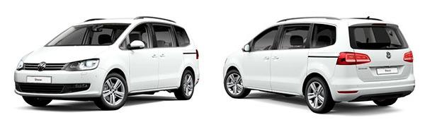 Modelo Volkswagen Sharan Advance