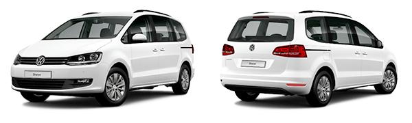 Modelo Volkswagen Sharan Edition