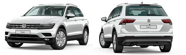 Modelo Volkswagen Tiguan Sport