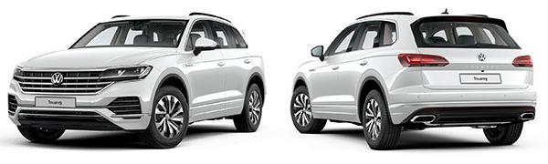 Modelo Volkswagen Touareg Pure