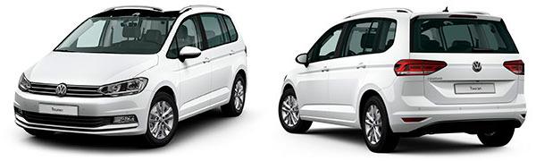 Modelo Volkswagen Touran Advance