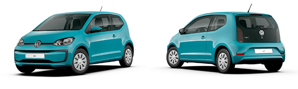 Modelo Volkswagen up! 3p Move up!