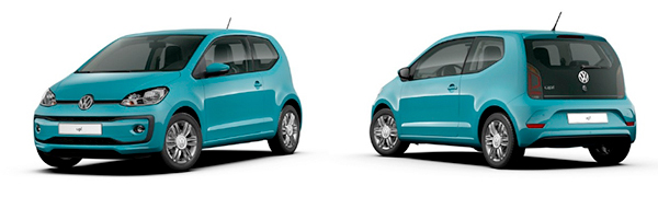 Modelo Volkswagen up! 5p High up!