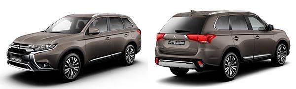 Modelo Mitsubishi Outlander Motion
