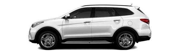 Modelo Hyundai Grand Santa Fe Style