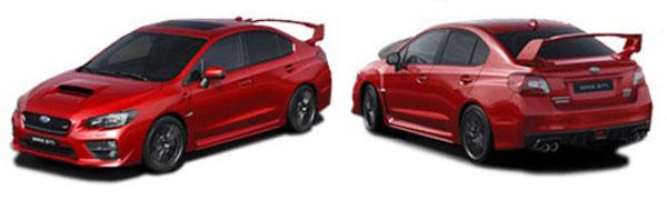 Modelo Subaru WRX STI Sedán Comfort Edition