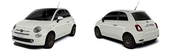 Modelo Fiat 500 120th Aniversario