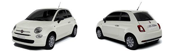 Modelo Fiat 500 Pop