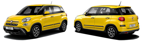 Modelo Fiat 500L City Cross