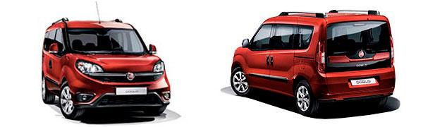 Modelo Fiat Professional Doblò Combi Pop