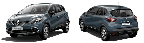 Modelo Renault Captur Intens