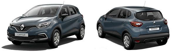 Modelo Renault Captur Life