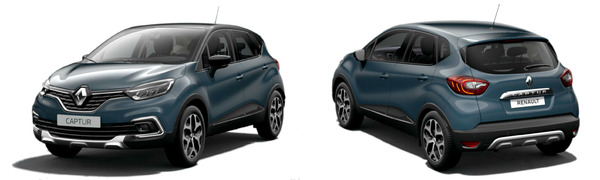 Modelo Renault Captur Zen