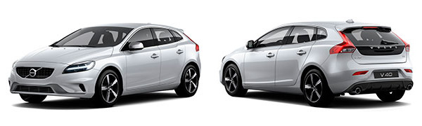 Model Volvo V40 R-Design Momentum
