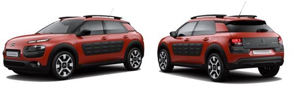 Modelo Citroën C4 Cactus Shine