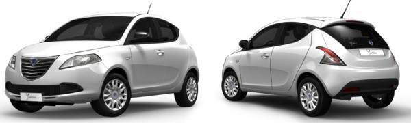 Modelo Lancia Ypsilon Silver