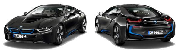 Modelo BMW i8 -
