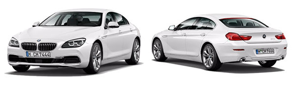 Modelo BMW Serie 6 Coupé -
