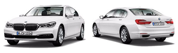 Modelo BMW Serie 7 -
