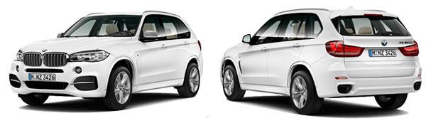 Modelo BMW X5 M50d