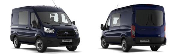 Modelo Ford Transit Mixta M1 Trend