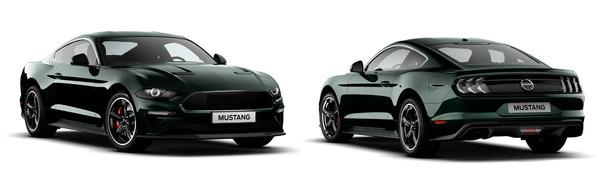 Modelo Ford Mustang Fastback BULLIT GT