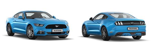 Modelo Ford Mustang Fastback -