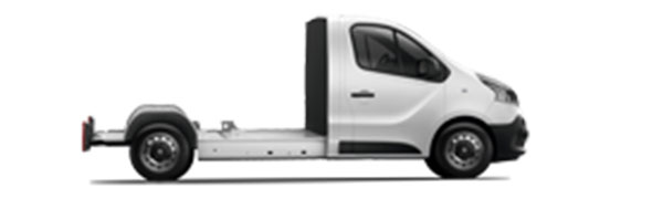 Modelo Renault Trafic Cabina Plataforma 4p -