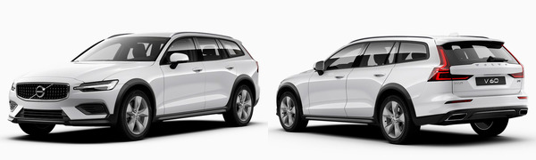 Model Volvo V60 Cross Country -