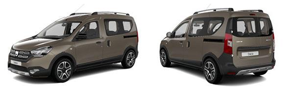 Modelo Dacia Dokker 5p SL 2018
