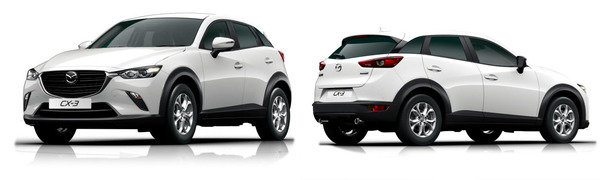 Modelo Mazda CX-3 Evolution