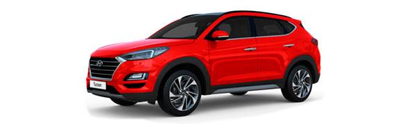 Model Hyundai Tucson SLE