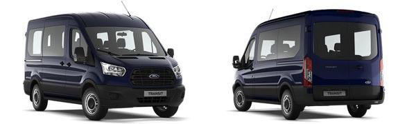 Modelo Ford Transit Kombi N1/N2 Ambiente
