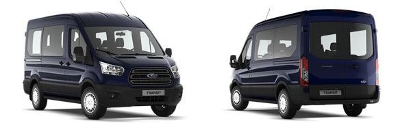 Modelo Ford Transit Kombi N1/N2 Trend