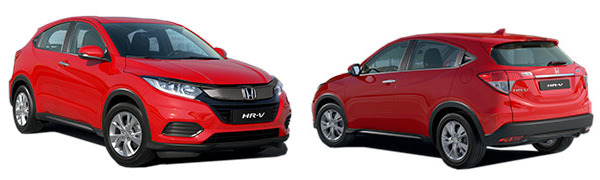 Model Honda HV-R 5p Comfort
