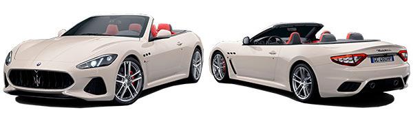 Modelo Maserati GranCabrio MC