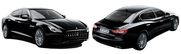 Modelo Maserati Quattroporte -