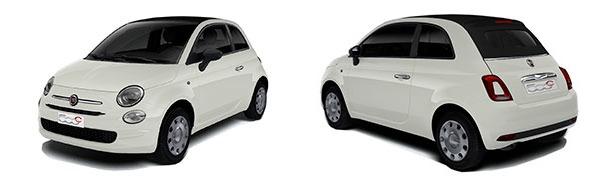 Modelo Fiat 500C Cabrio Pop
